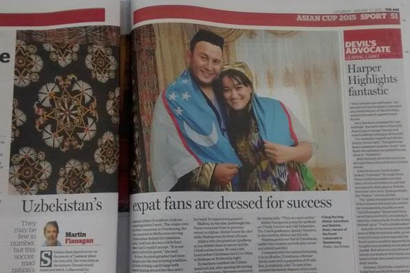 The Age Uzbek fans