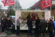 Charlton Athletic Food Van