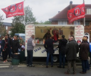 Charlton Athletic Food Van