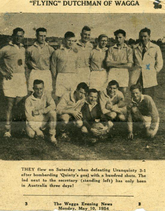 The Wagga Wagga Clogs 1954