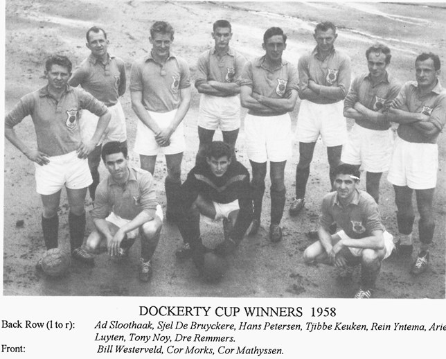 Wilhelmina Dockerty Cup Winners 1958