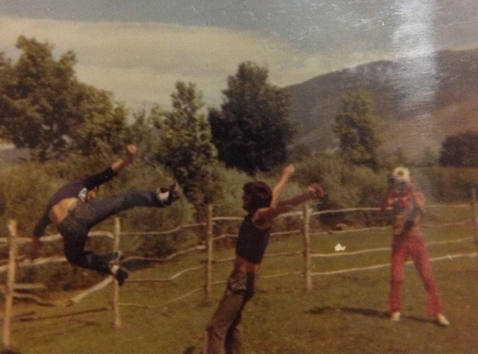 Petar karate kick
