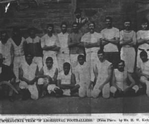 Cummeragunja Aboriginal Football Team - 1900