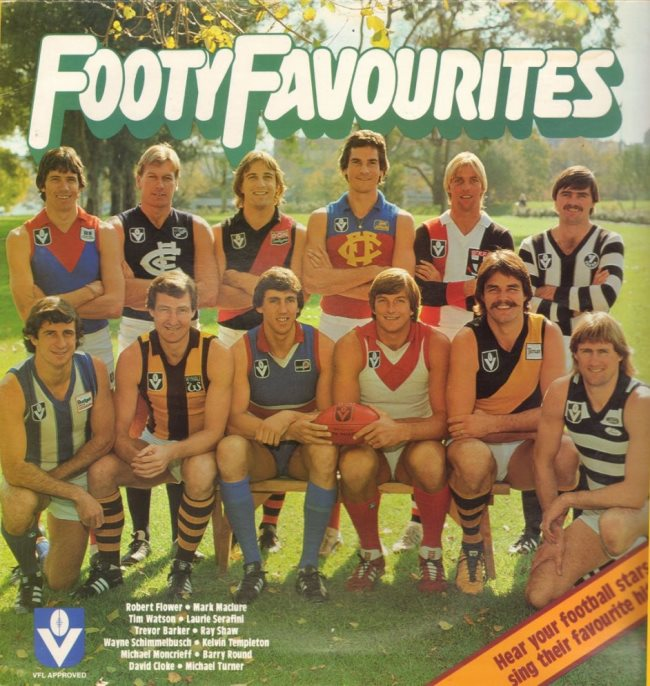 footy favourites vfl album
